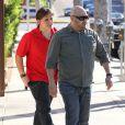 Prince Jackson quitte son cours de Jiu-Jitsu à Beverly Hills, le 15 janvier 2014.