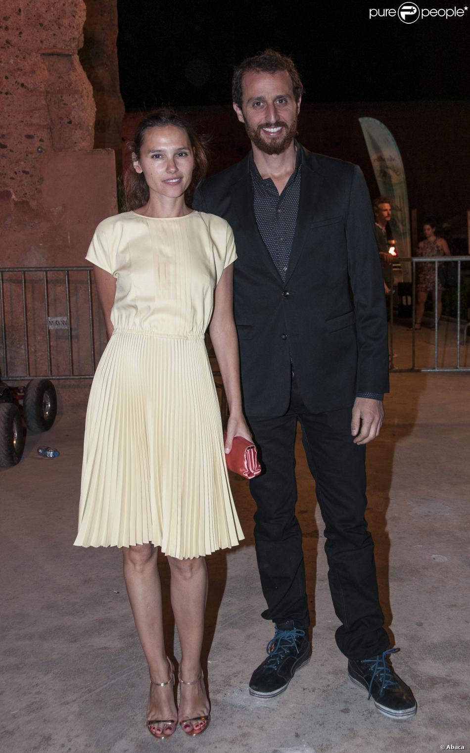 Virginie Ledoyen et Arié Elmaleh lors du Festival du rire de Marrakech le 9 juin 2012