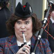 Susan Boyle, ambassadrice comique : La cornemuse lui va comme un gant !