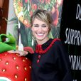 Pauline Lefèvre au photocall du film L'Île des Miam-nimaux : Tempête de boulettes géantes 2, présenté au 17e Festival International du Film de Comedie de l'Alpe d'Huez, le 17 janvier 2014.