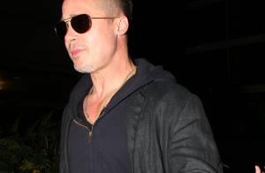 Brad Pitt, 50 ans : Rajeuni avec sa nouvelle coiffure et bientôt papa ?