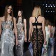 Défilé Atelier Versace printemps-été 2014 à la Chambre de Commerce et d'Industrie. Paris, le 19 janvier 2014.