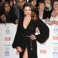 Kelly Brook en transparence fait le buzz à la cérémonie des National TV Awards à Londres, le 22 janvier 2014.