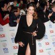 Kelly Brook (qui porte une robe transparente) fait le buzz à la cérémonie des National TV Awards à Londres, le 22 janvier 2014.