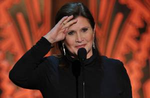 Star Wars VII : Cheveux blancs et Harrison Ford au programme pour Carrie Fisher