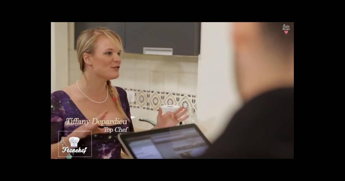 top chef tiffany depardieu elle lance sa cha ne et rel ve des d fis. Black Bedroom Furniture Sets. Home Design Ideas