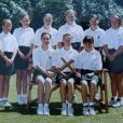 Kate Middleton en 1995, à 13 ans, lors de sa dernière année à l'école St Andrew de Pangbourne.