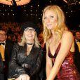 Diane Keaton et Gwyneth Paltrow lors de la 49e cérémonie des Golden Camera Awards à Berlin, le 1er février 2014.
