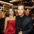 Camila Alves et son mari Matthew McConaughey lors de la 49e cérémonie des Golden Camera Awards à Berlin, le 1er février 2014.