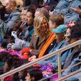 Le roi Willem-Alexander des Pays-Bas et la reine Maxima - Cérémonie d'ouverture des Jeux Olympiques de Stochi, le 7 février 2014.