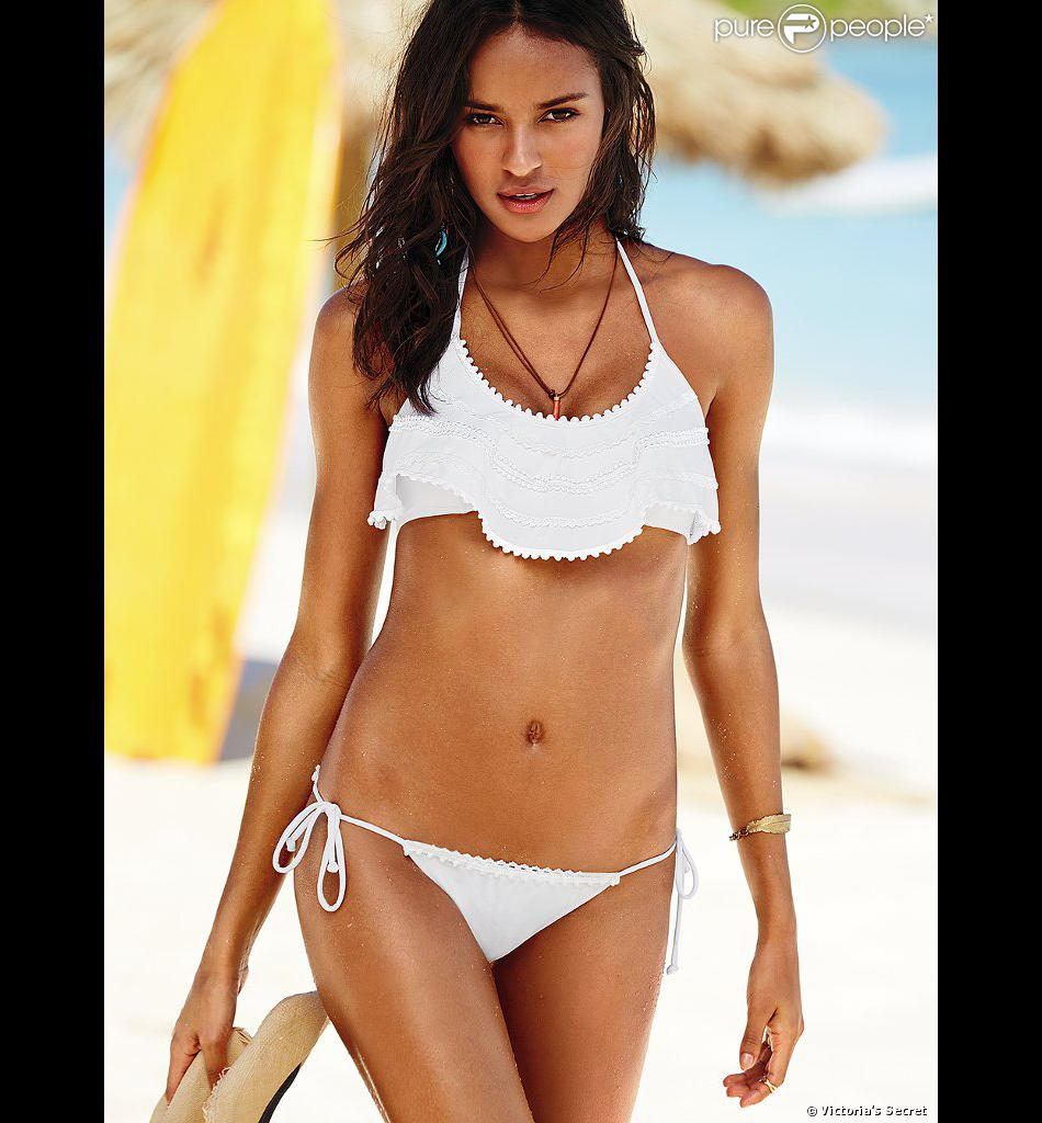 Gracie Carvalho pose pour Victoria's Secret. 2014.