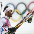 Martin Fourcade Martin Fourcade a décroché l'or olympique lors de la poursuite en biathlon, offrant à la France sa première médaille d'or, le 10 février 2014 à Sotchi