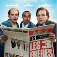 Affiche officielle du film Les Trois Frères, le retour.
