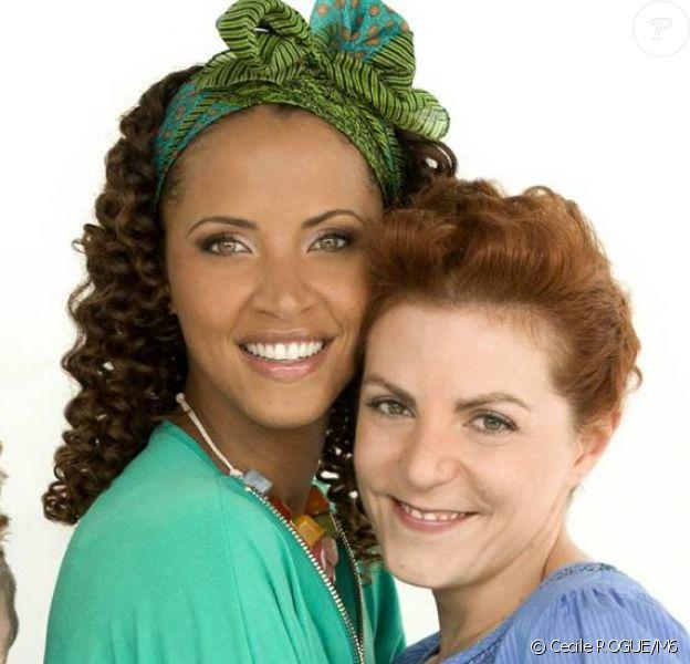 Clair et Noémie Lenoir pour Scènes de ménage, diffusé le 12 février 2014 sur M6.