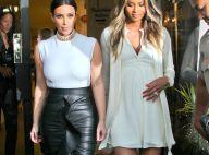 Kim Kardashian, styliste pour enfants : Virée shopping avec Ciara, enceinte