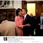 Barack et Michelle Obama : Leurs messages d'amour pour une douce Saint-Valentin