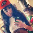 Celia Kay, photo du 12 janvier 2014 issue de son compte Instagram