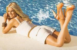 PHOTOS : Jessica Simpson super glamour au bord de la piscine !