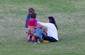 Camila Alves, maman funny avec ses 3 enfants pendant que papa est au boulot