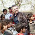 Denis Brogniart sur le tournage d'Automoto en Inde. Diffusion le dimanche 23 février 2014 sur TF1.