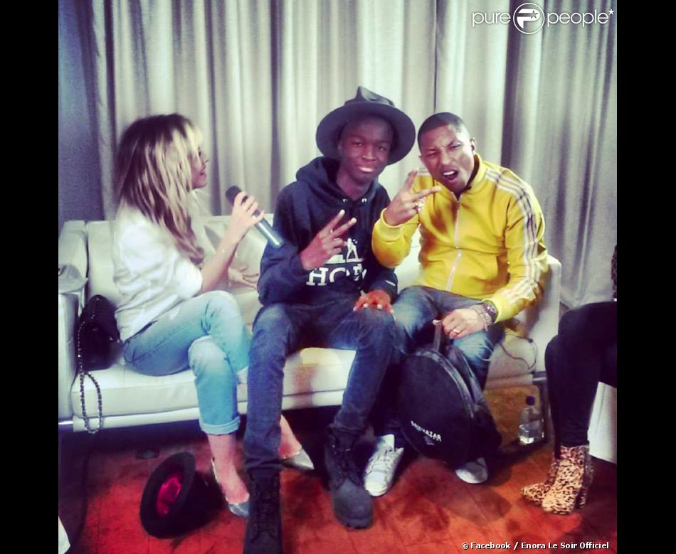 Enora malagre interview pharrell williams 2