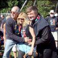 Alec Baldwin avec Chevy Chase et Lori Singer