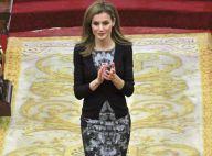 Princesse Letizia : Élégante et rayonnante pour une journée importante au Sénat