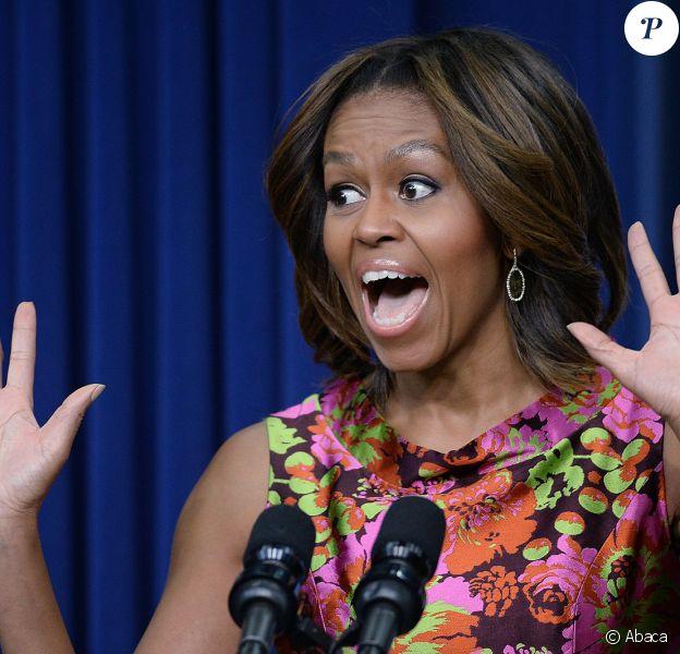 Michelle Obama à la Maison Blanche à Washington, le 24 février 2014
