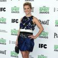 Reese Witherspoon pose lors du photocall des Film Independent Spirits Awards à Los Angeles le 1er mars 2014.