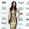Krysten Ritter pose lors du photocall des Film Independent Spirits Awards à Los Angeles le 1er mars 2014.
