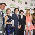 Reese Witherspoon, Tye Sheridan, Jacob Lofland, Bonnie Sturdivant, et Matthew McConaughey honorés d'un prix lors des Film Independent Spirits Awards à Los Angeles le 1er mars 2014.