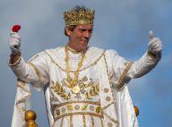 Hugh Laurie : Pour Mardi Gras, il se déguise en Bacchus totalement déjanté
