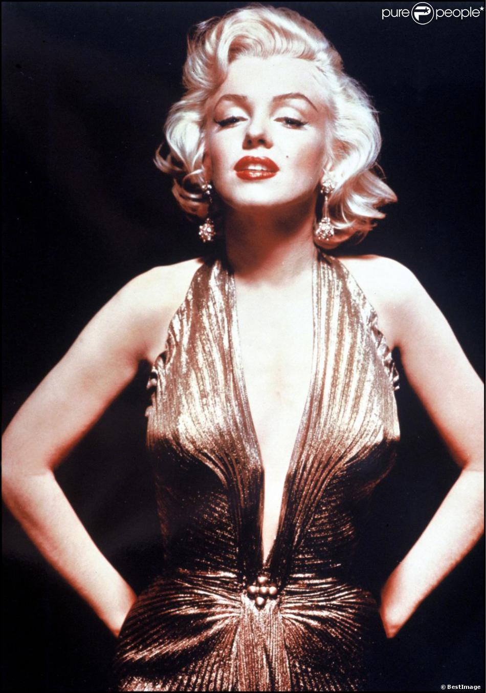 L'icône Marilyn Monroe