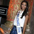 """Flora Coquerel 'Miss France 2014' - Soirée pour le11e anniversaire de """"Eleven Paris"""" à la Gaité Lyrique à Paris le 4 mars 2014."""