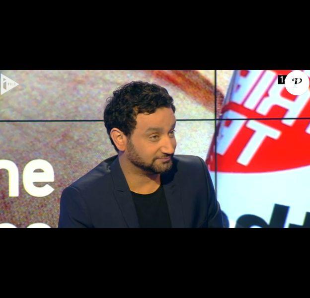 Cyril Hanouna dans La Semaine des médias sur i-Télé, le dimanche 2 mars 2014.