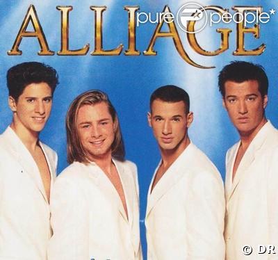 Romain, Steven, Quentin et Brian d'Alliage