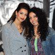 """Tal et sa maman Sem Azar lors de l'avant-première de """"Tal au cinéma"""" au Grand Rex à Paris, le 8 mars 2014."""