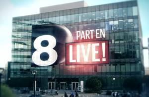 D8 part en live : 10 heures de direct où tout peut arriver...