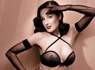 PHOTOS : Dita von Teese, toujours plus sexy, vous présente ses... Wonderbra !