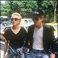 Madonna et Sean Penn dans les rues de New York, en juillet 1987.