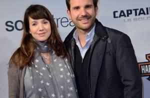 Christophe Michalak : Futur papa ravi au bras de Delphine, enceinte et épanouie
