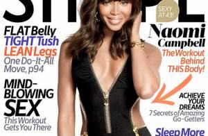 Naomi Campbell : Divine en maillot à 43 ans, elle dévoile ses astuces
