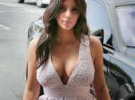 Kim Kardashian radieuse, toute poitrine dehors, mais sa couv' de Vogue divise...