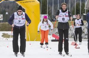 Albert de Monaco et Emmanuel-Philibert de Savoie : Skieurs stars dans le Tyrol