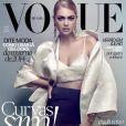 Kate Upton en couverture du magazine Vogue Brasil. Juillet 2013.