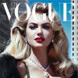 Kate Upton en couverture du magazine Vogue Italia. Novembre 2012.