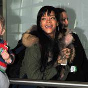 Rihanna : Souriante avant de retrouver Drake et de recevoir un prix d'icône