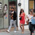 Swizz Beatz, mari de Alicia Keys, dans les rues de Sao Paulo, le 12 septembre 2013.
