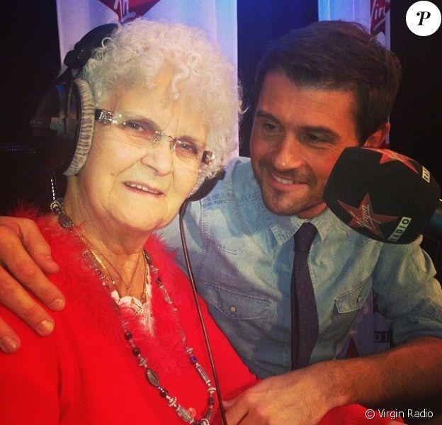 Lucienne, de la matinale de Virgin Radio, et Christophe Beaugrand, le mercredi 19 février 2014.