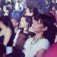Rihanna assiste au concert de Drake à l'O2 Arena à Londres. Le 25 mars 2014.